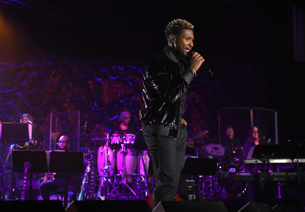 Usher at Songwriter's Hall Of Fame