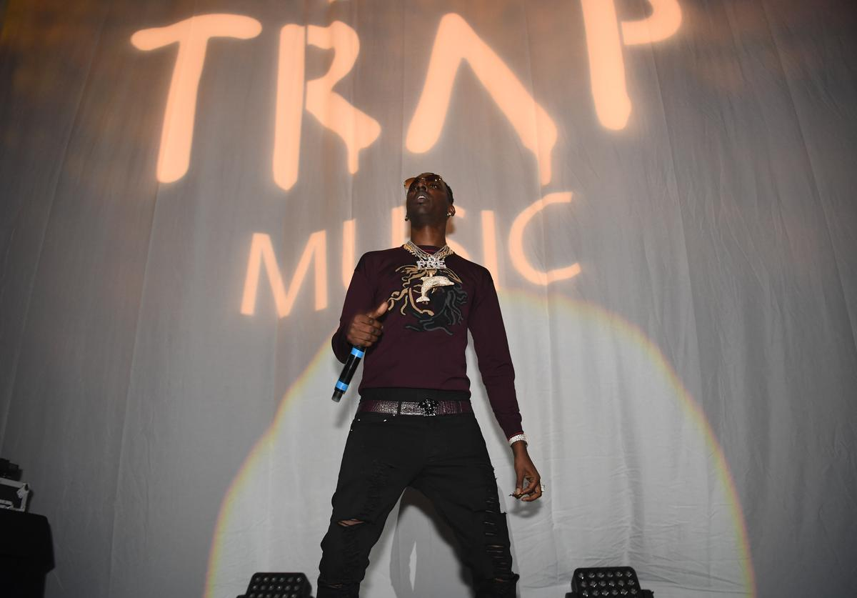 Young Dolph at Trap music party