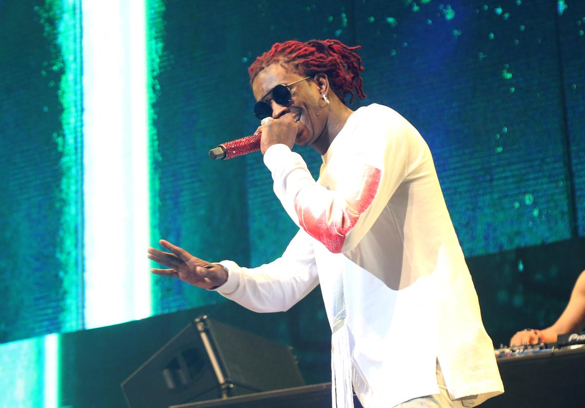 Young Thug at 2017 BET Experience