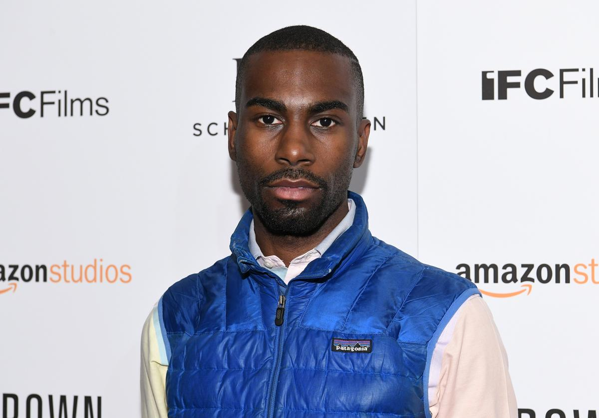 DeRay on red carpet