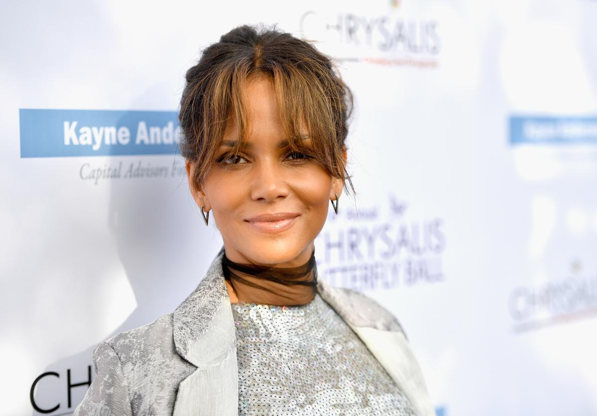 Halle smiling