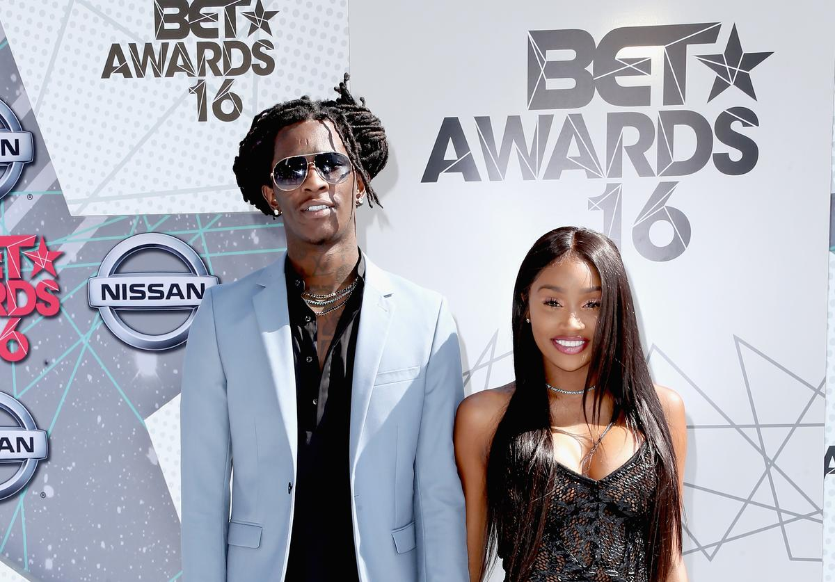 Jerrika Karlae & Young Thug at the 2016 BET Awards