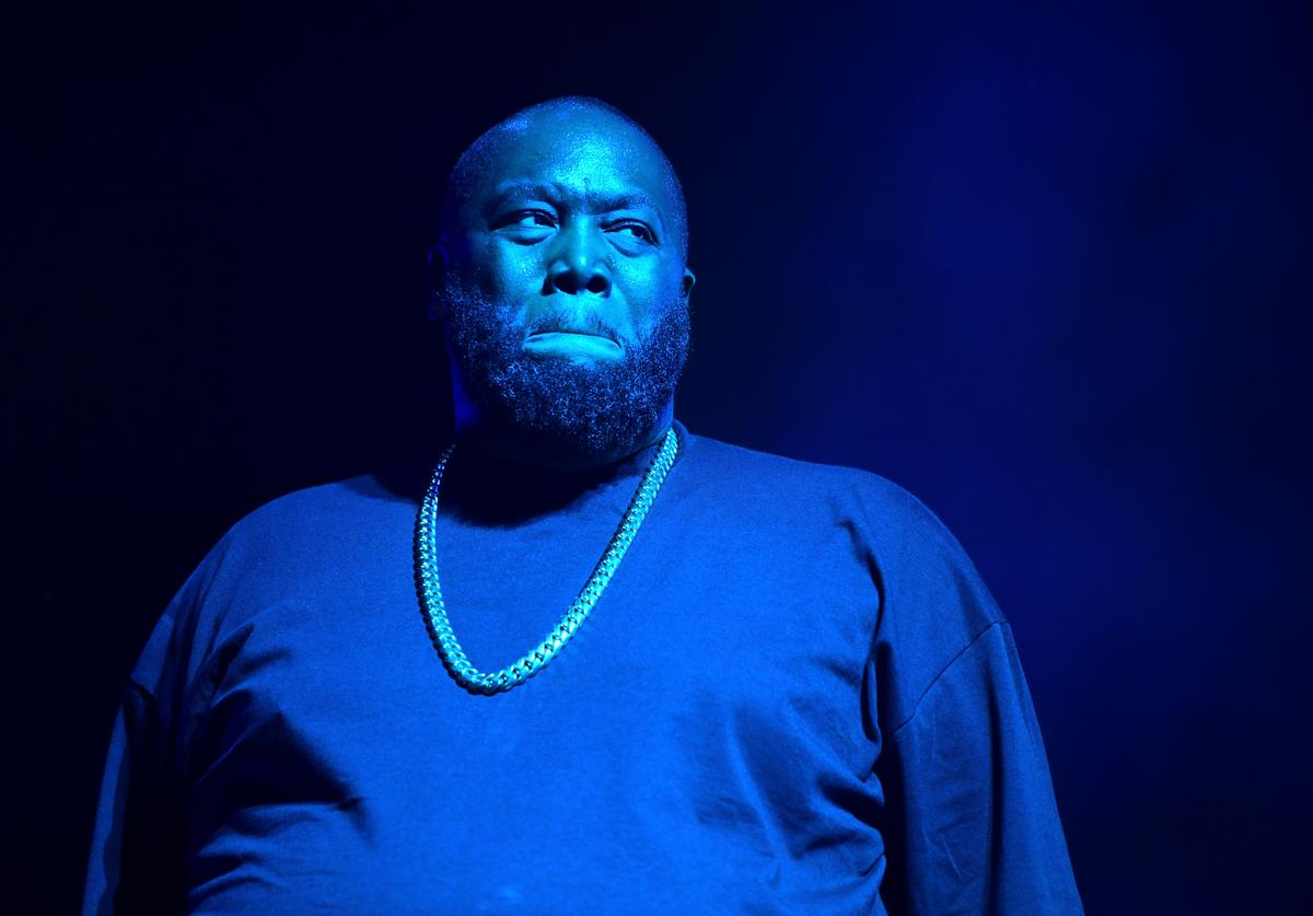 Killer Mike On Stage