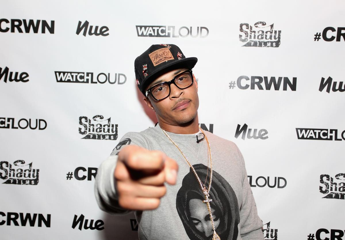 Elliott Wilson Hosts CRWN With T.I. For WatchLOUD.com Presented By Footaction