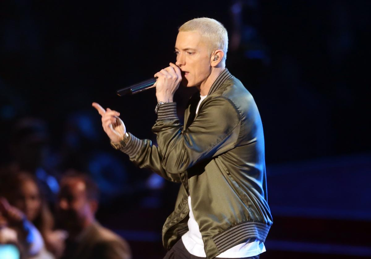 Eminem at 2014 MTV Music Awards