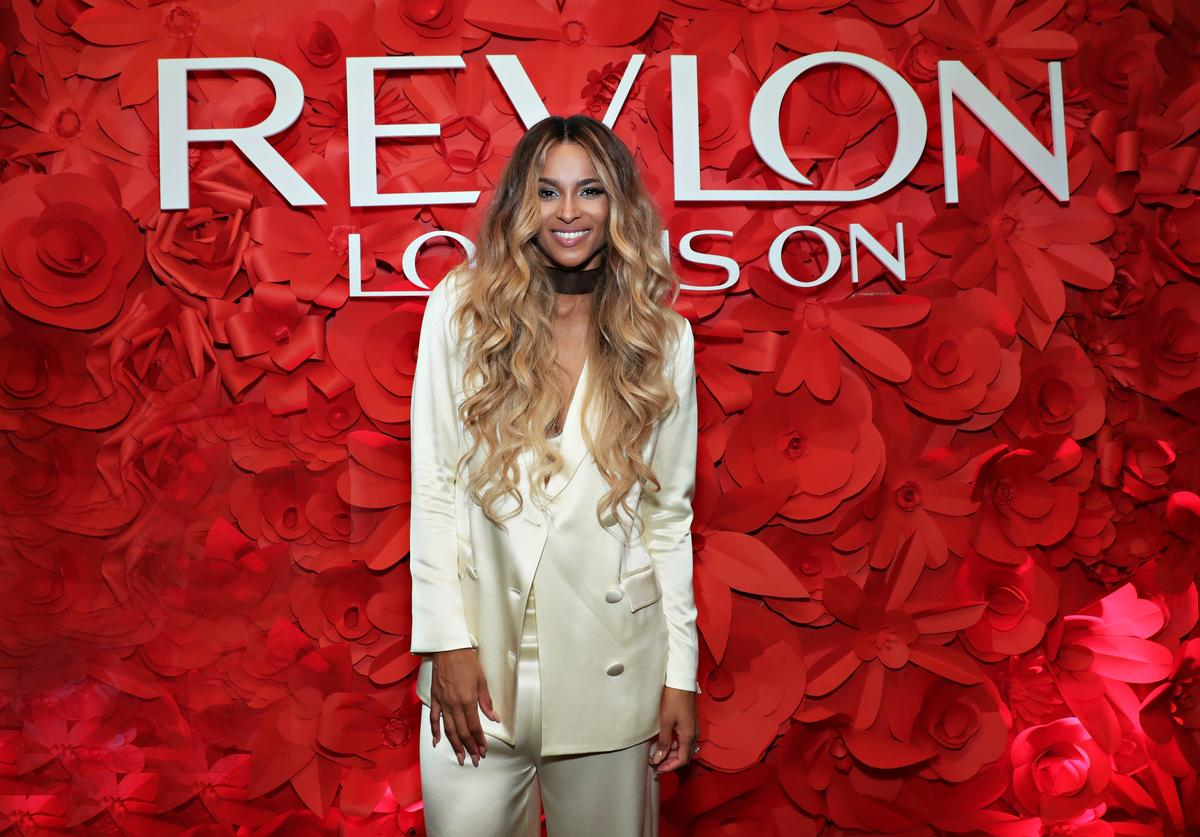 Ciara at Revlon event