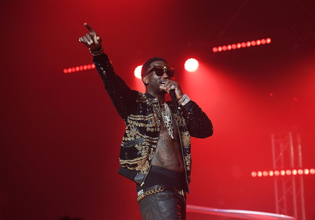 Gucci Mane at 2016 Homecoming Concert