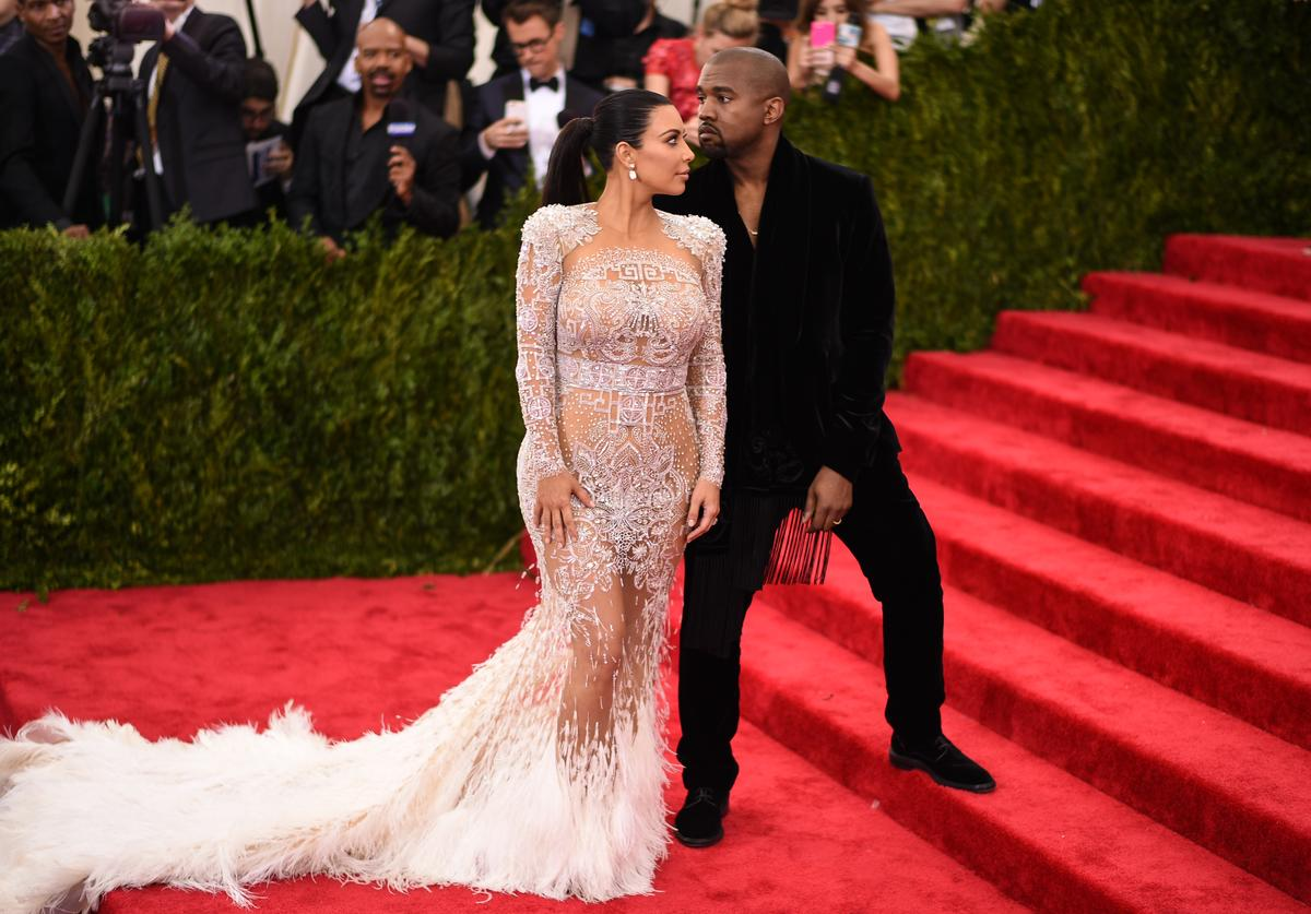 Kanye Kim 'China: Through The Looking Glass' Costume Institute Benefit Gala
