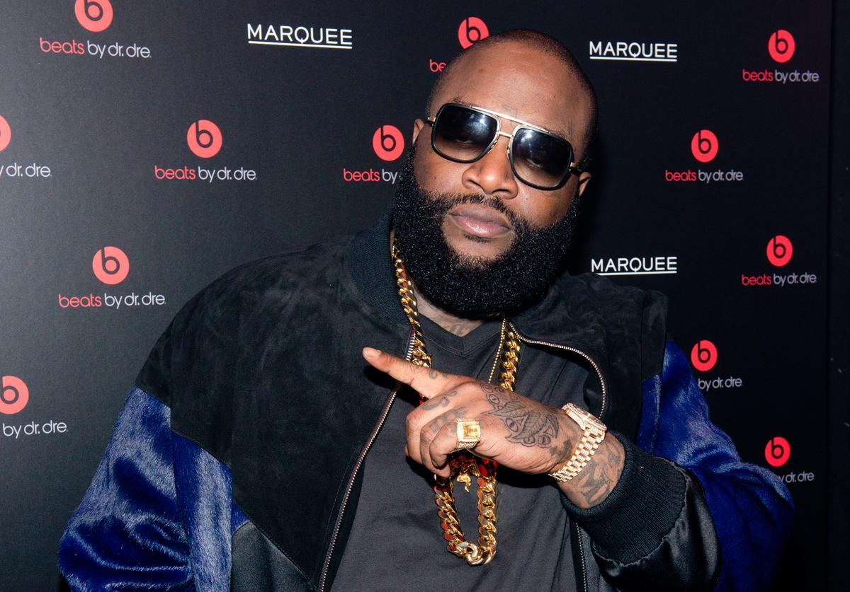 Rick Ross Beats By Dr. Dre Special Event At Marquee New York