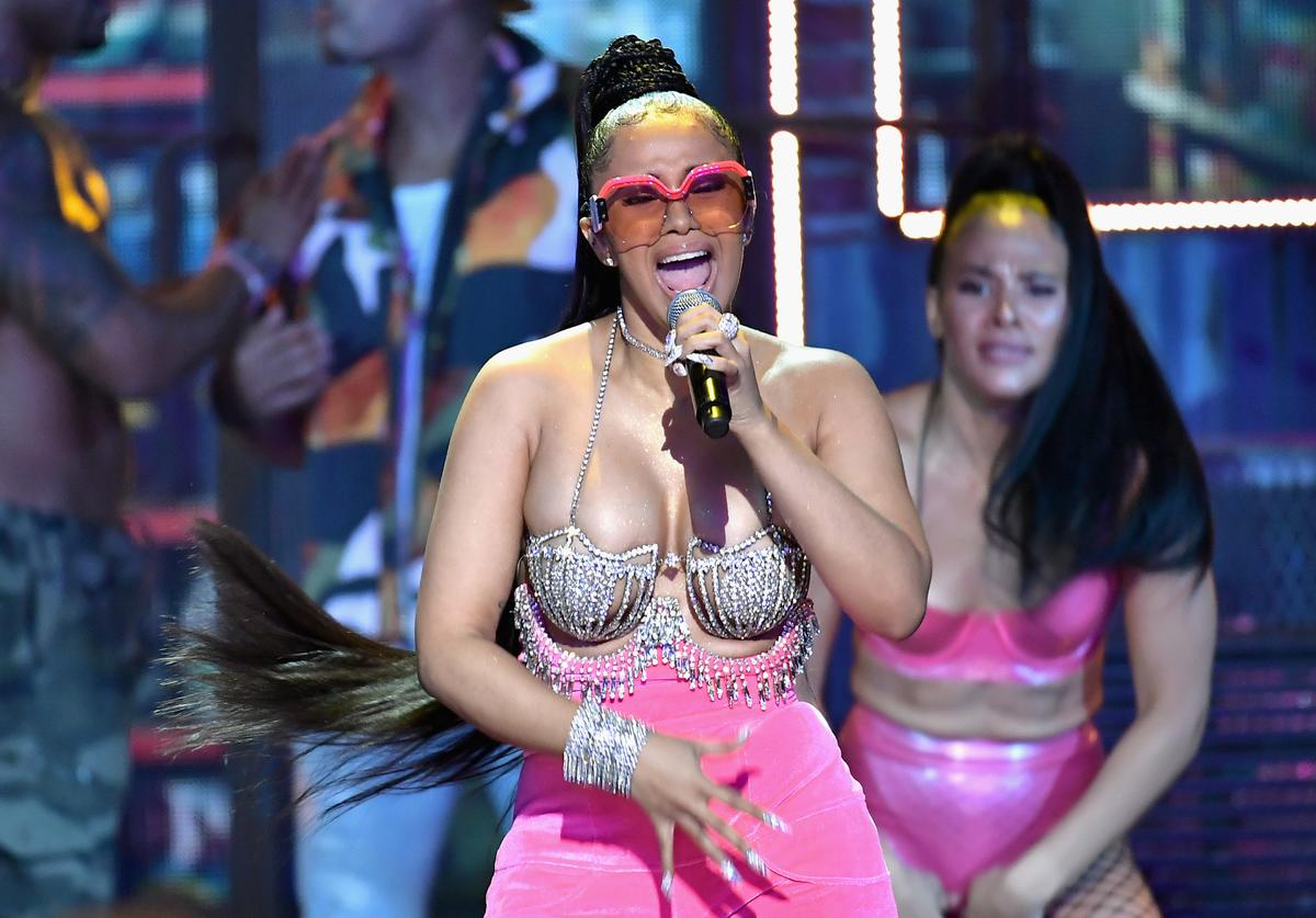 Cardi B BET Hip Hop Awards 2017 - Show
