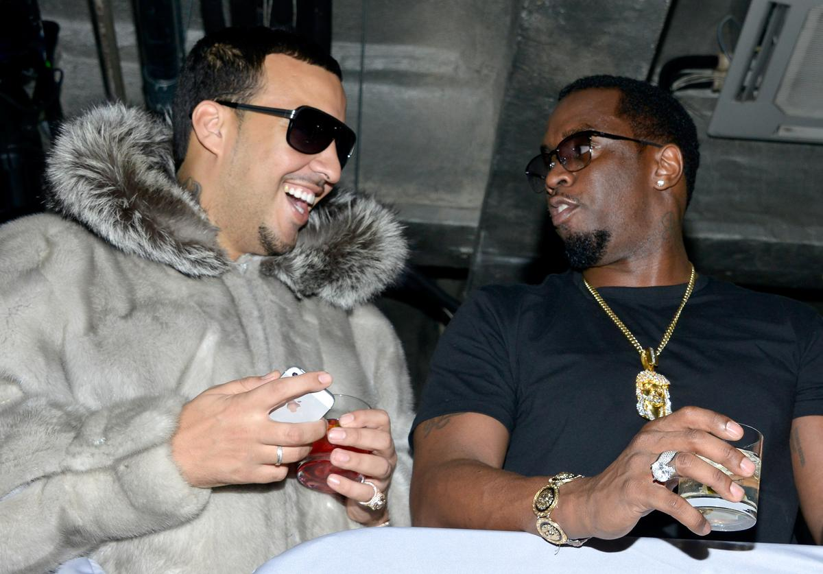 French Montana Diddy Time Warner Cable Studios And Revolt Bring the Music Revolution