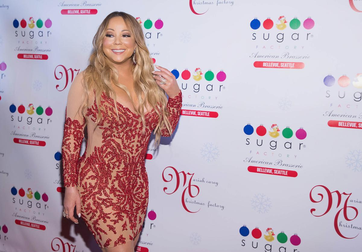 Mariah Carey at Christmas factory