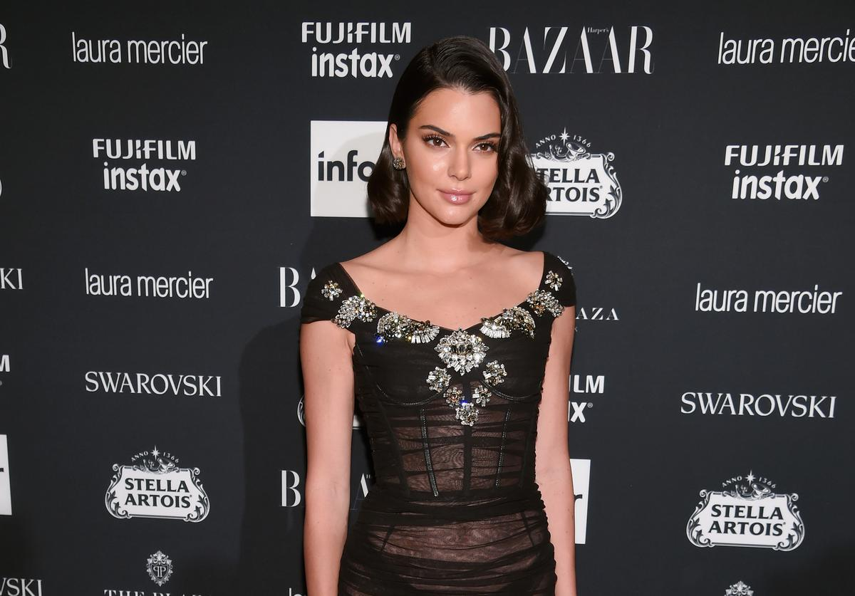 Kendall Jenner on red carpet