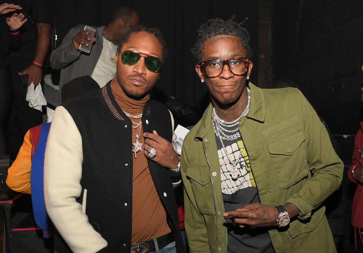 Future and Young Thug at CM9 release