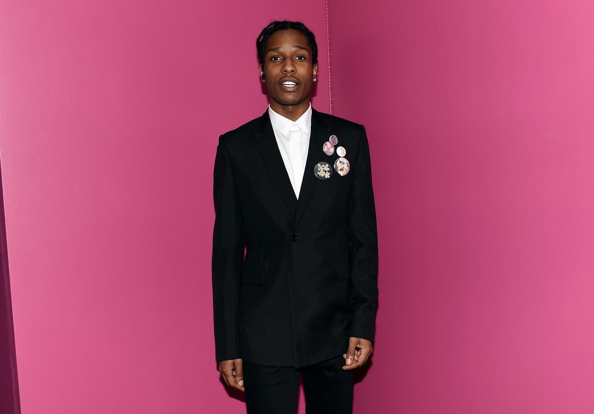 ASAP Rocky attends the 2015 Guggenheim International Gala Dinner made possible by Dior at Solomon R. Guggenheim Museum on November 5, 2015