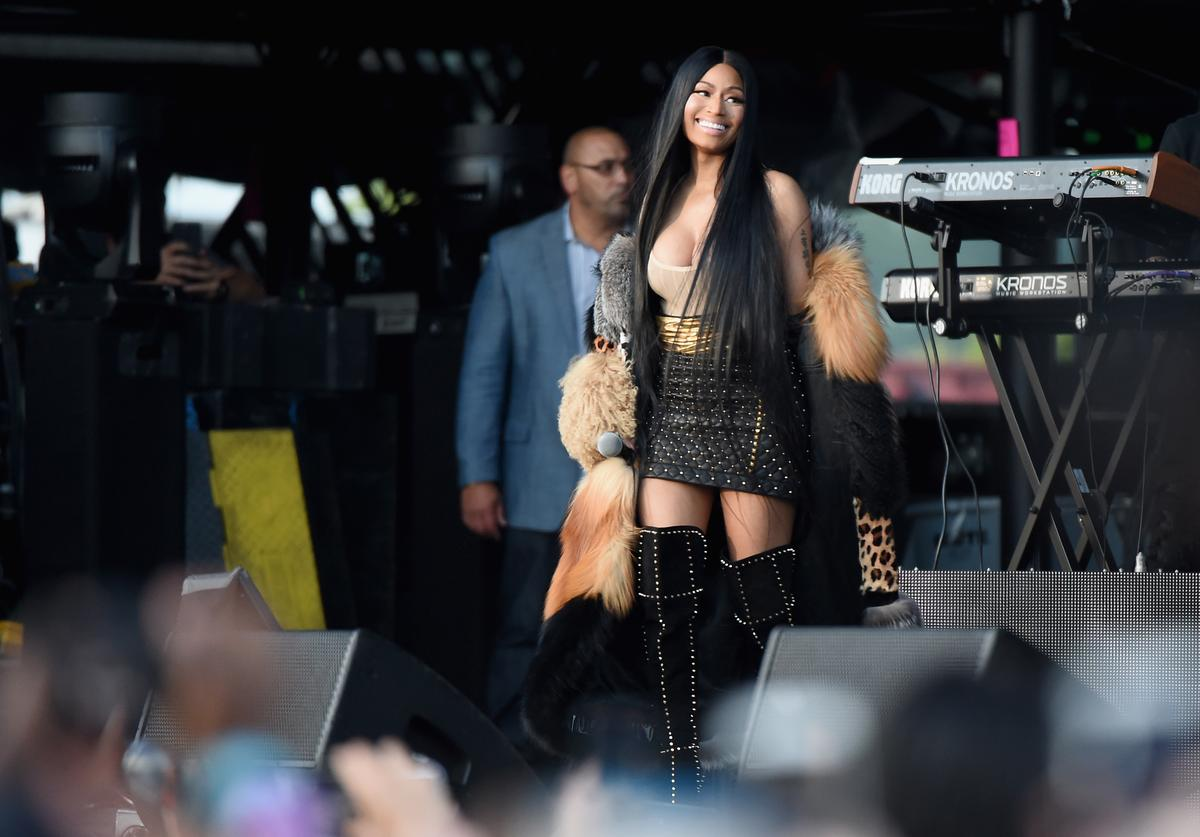 Nicki Minaj at The Meadows Fest