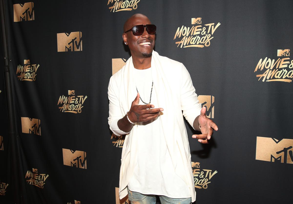 Tyrese at 2017 MTV Movie & Video Awards