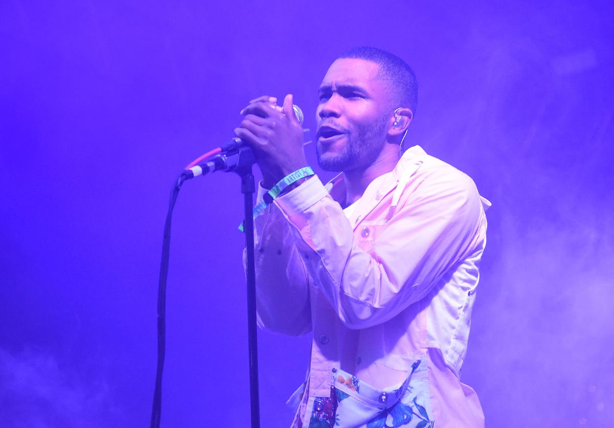 Artist Frank Ocean performs during the 2014 Bonnaroo Music & Arts Festival on June 14, 2014 in Manchester, Tennessee