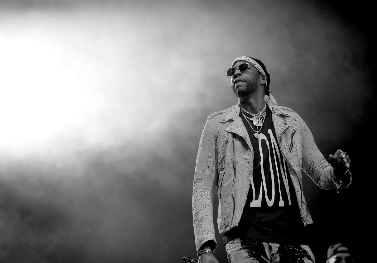 2 Chainz performs at the Saraha tent during day 3 of the Coachella Valley Music And Arts Festival (Weekend 1) at the Empire Polo Club on April 16, 2017 in Indio, California