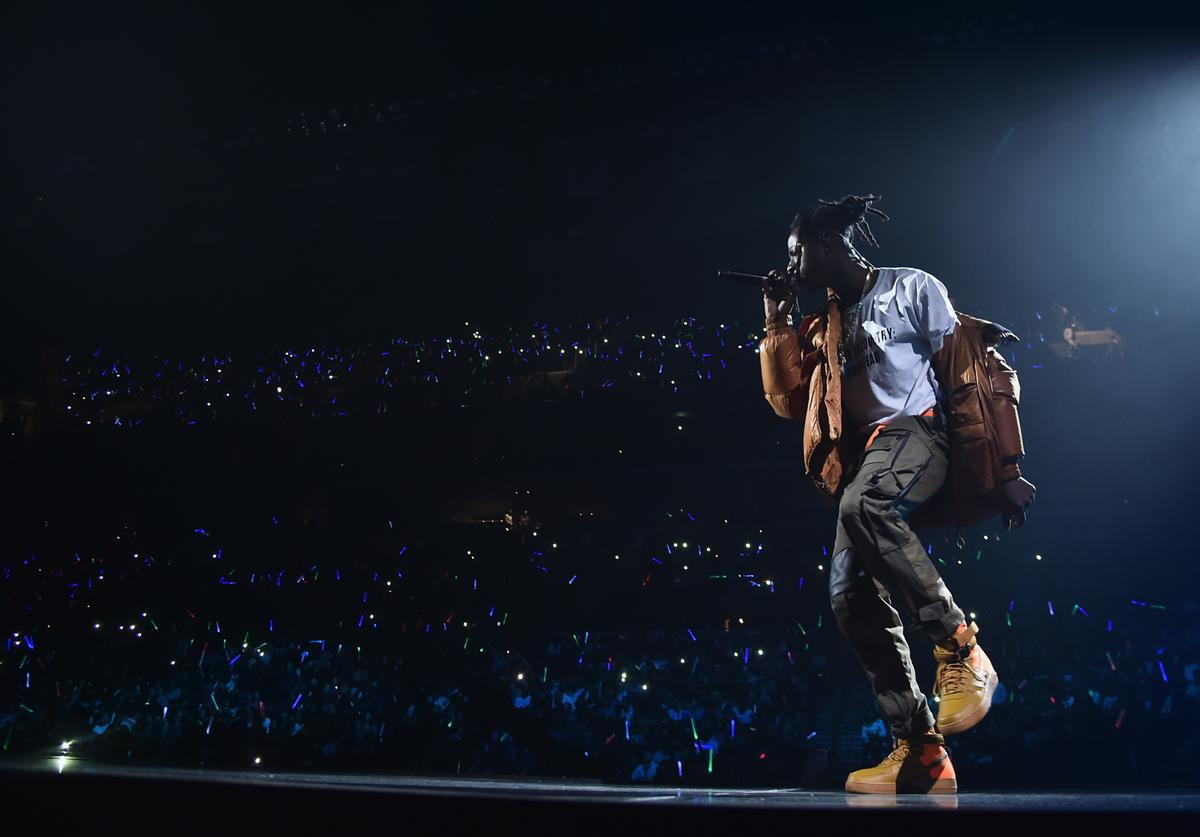 Joey Bada$$ performs onstage during TIDAL X: Brooklyn at Barclays Center of Brooklyn on October 17, 2017 in New York City.