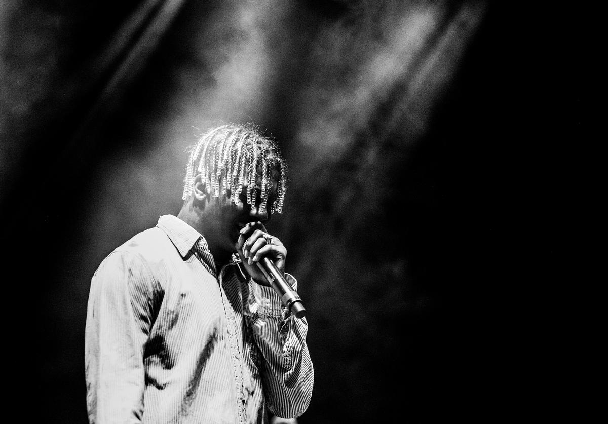 Lil Yachty performs on the Flog Stage during day 2 of Camp Flog Gnaw Carnival 2017 at Exposition Park on October 29, 2017 in Los Angeles, California