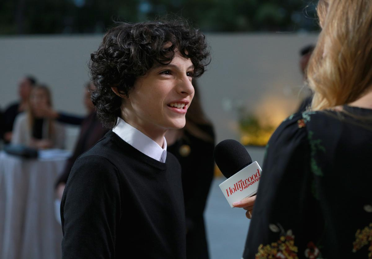 Finn Wolfhard at The Hollywood Reporter Event