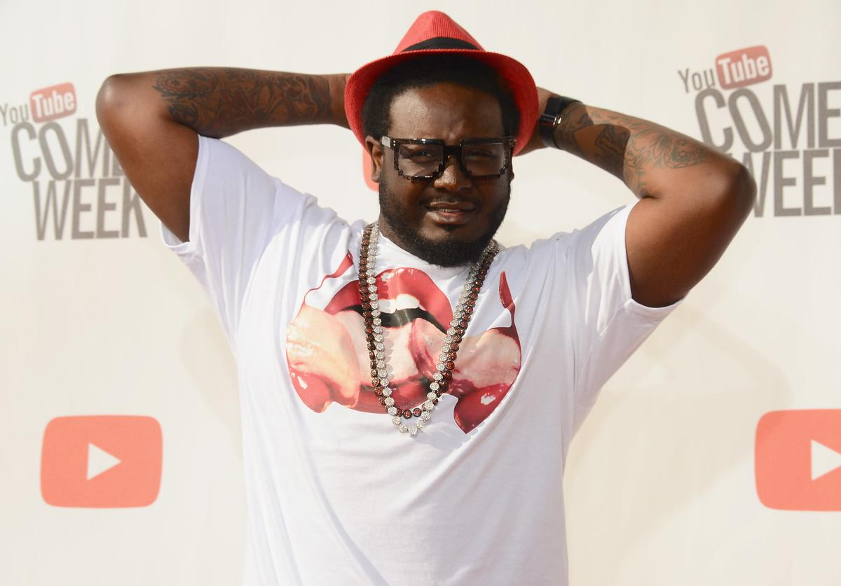 T-Pain attends 'The Big Live Comedy Show' presented by YouTube Comedy Week held at Culver Studios on May 19, 2013 in Culver City, California