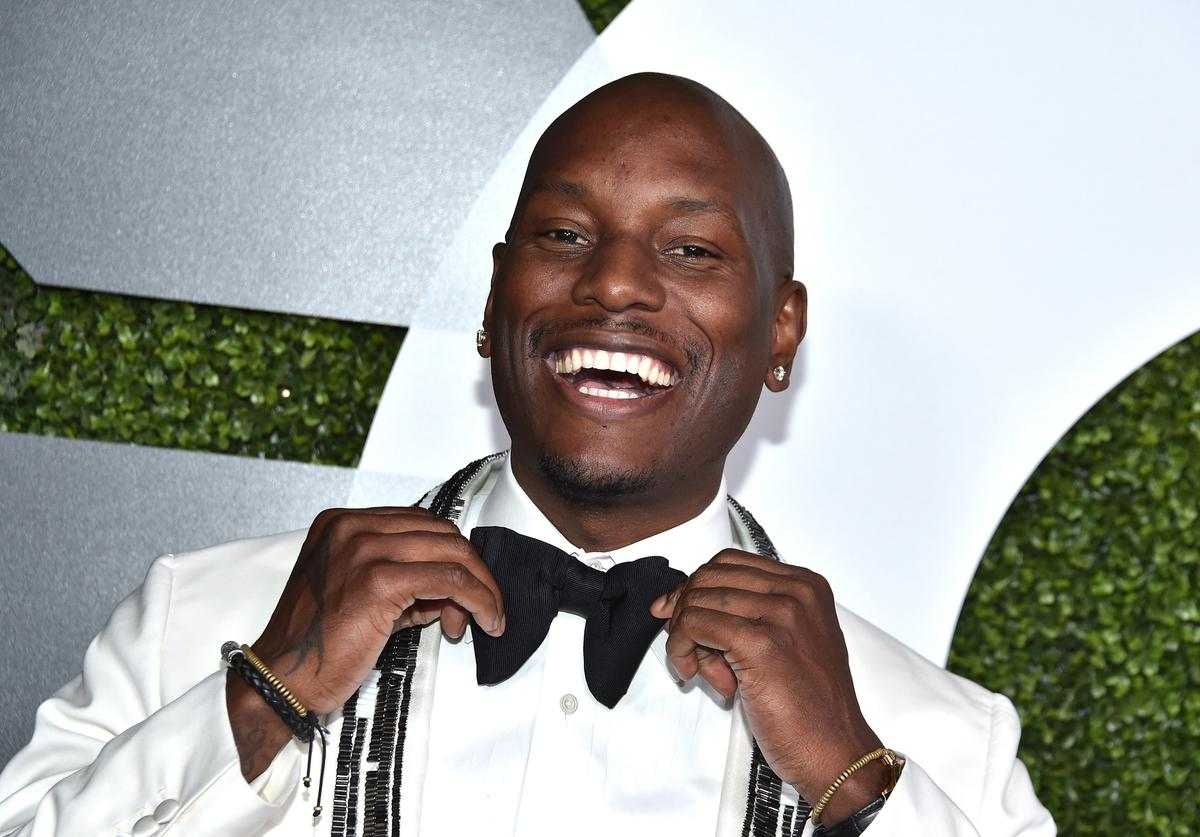 Actor/rapper Tyrese Gibson attends the GQ 20th Anniversary Men Of The Year Party at Chateau Marmont on December 3, 2015 in Los Angeles, California