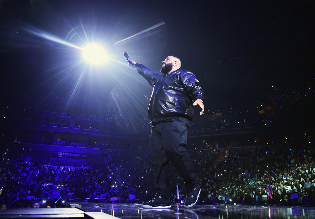 DJ Khaled performs onstage during TIDAL X: Brooklyn at Barclays Center of Brooklyn on October 17, 2017 in New York City