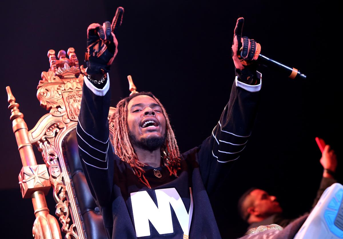 Rapper Fetty Wap performs onstage during 105.1's Powerhouse 2015 at the Barclays Center on October 22, 2015 in Brooklyn, NY