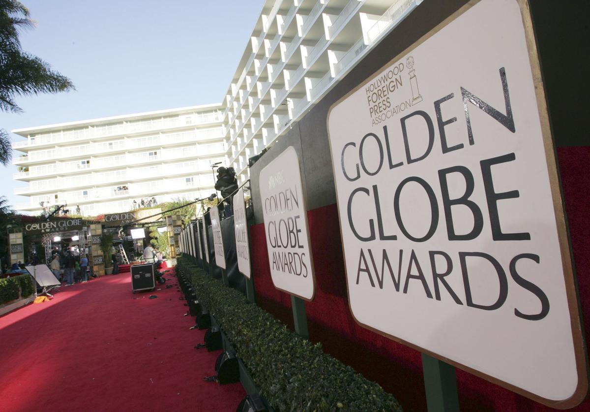 Preparations for the 63rd Annual Golden Globes are underway at the Beverly Hilton Hotel on January 15, 2006 in Beverly Hills, California