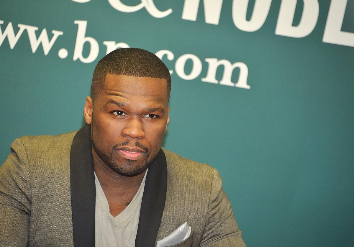 Rapper 50 Cent promotes his new book 'Formula 50: A 6-Week Workout and Nutrition Plan That Will Transform Your Life' at Barnes & Noble, 5th Avenue on January 16, 2013 in New York City