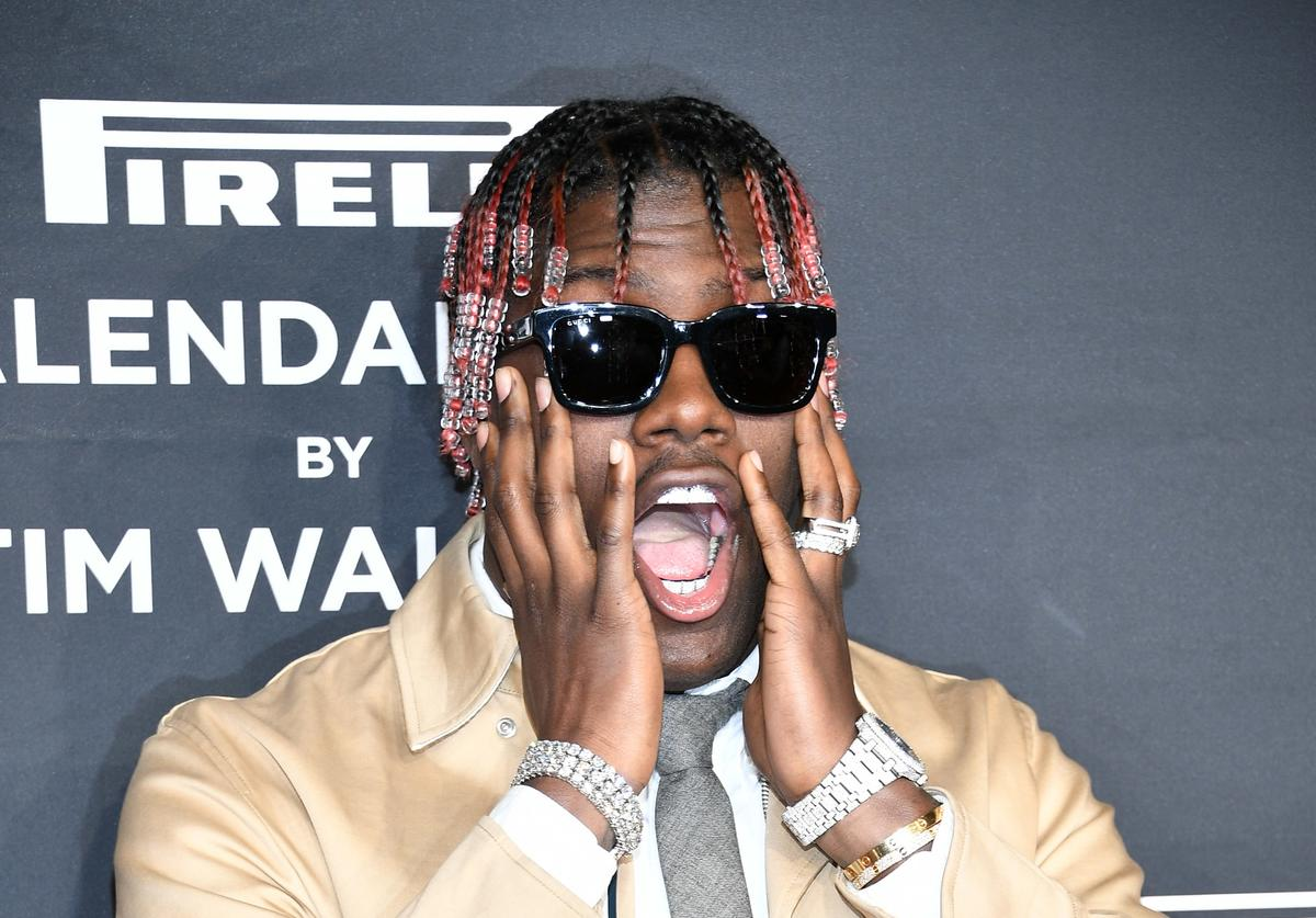 Lil Yachty screaming