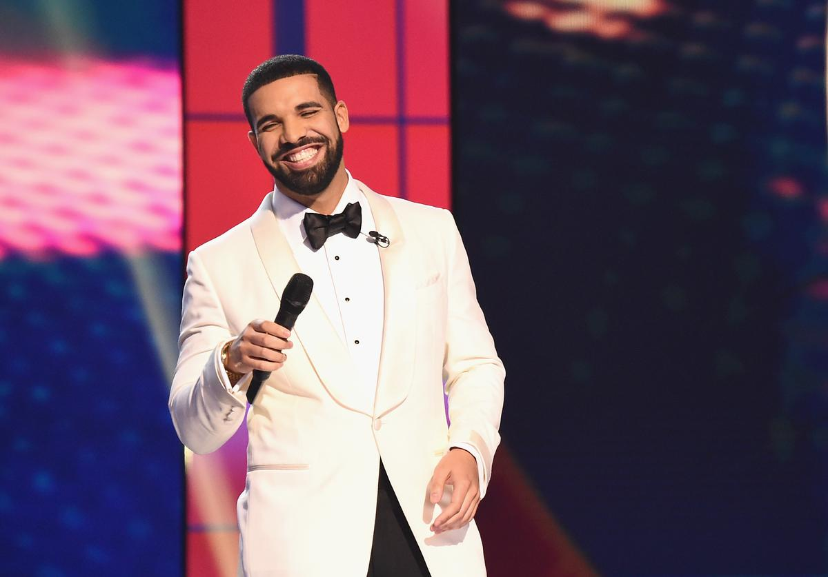 Host Drake speaks on stage during the 2017 NBA Awards Live On TNT on June 26, 2017 in New York City
