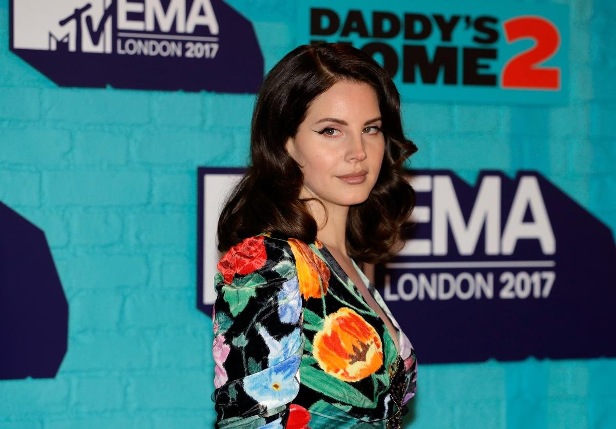 Lana Del Rey attends the MTV EMAs 2017 held at The SSE Arena, Wembley on November 12, 2017 in London, England