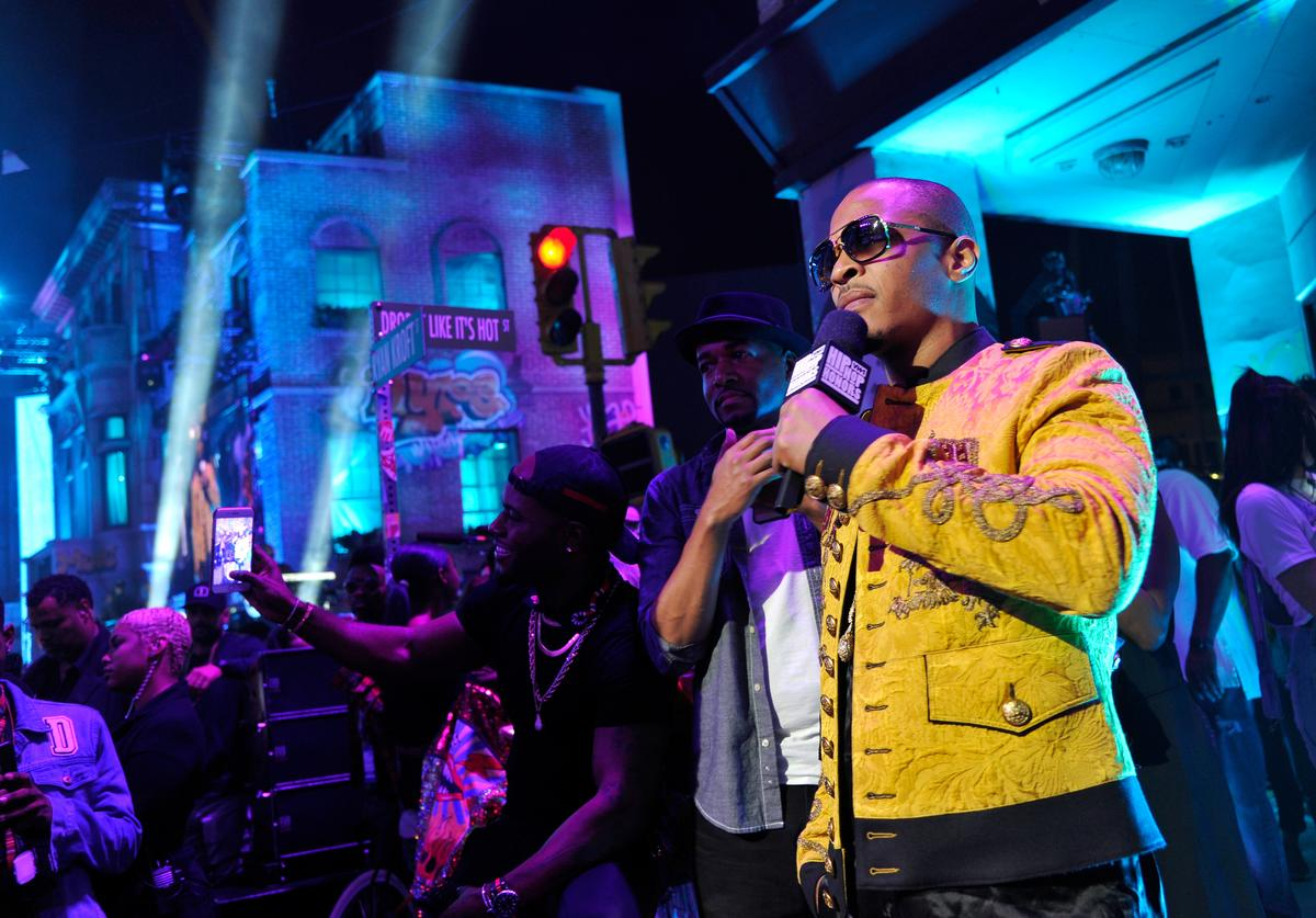 T.I. at the VH1 Hip Hop Honors: The 90s Game Changers at Paramount Studios on September 17, 2017 in Los Angeles, California
