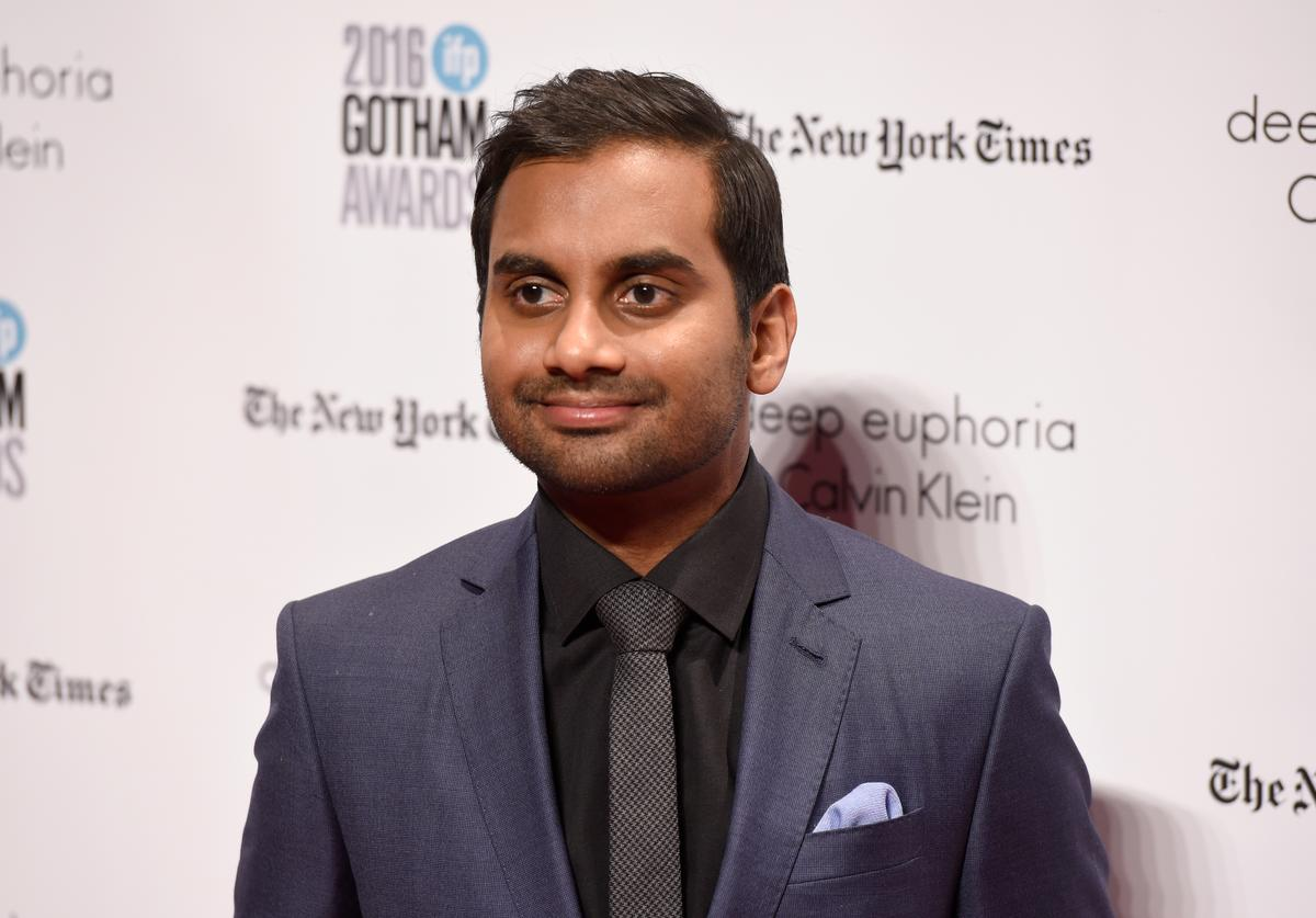 Aziz Ansari attends IFP's 26th Annual Gotham Independent Film Awards at Cipriani, Wall Street on November 28, 2016 in New York City