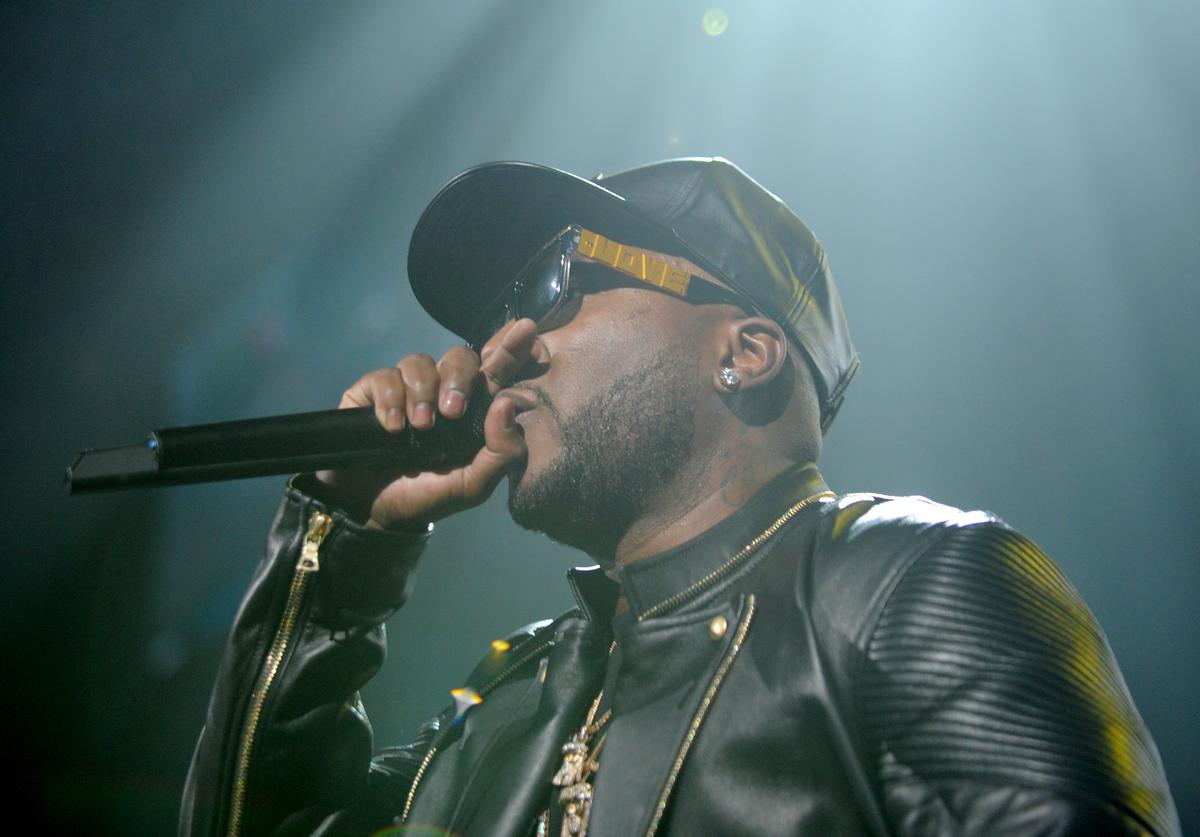Hip-hop artist Young Jeezy performs on stage at Power 105.1's Powerhouse 2014 at Barclays Center of Brooklyn on October 30, 2014 in New York City