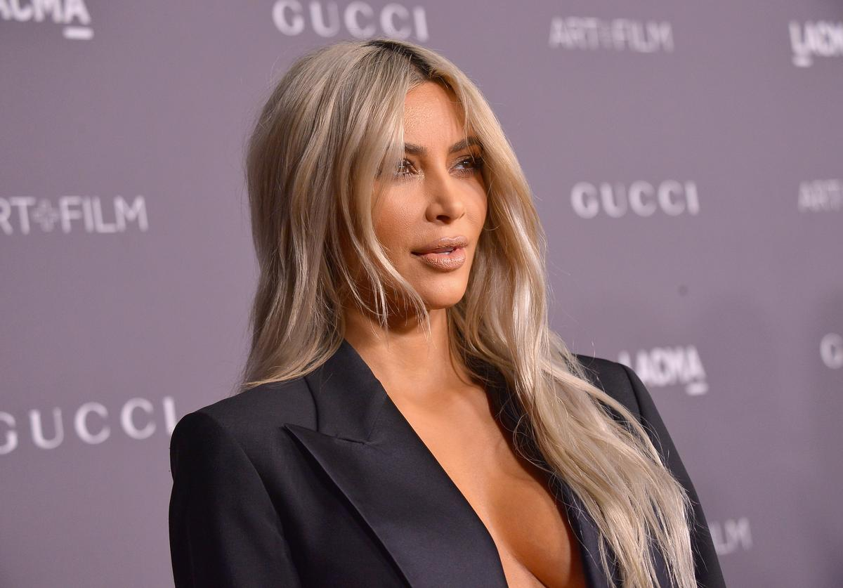 Kim Kardashian West attends the 2017 LACMA Art + Film Gala Honoring Mark Bradford and George Lucas presented by Gucci at LACMA on November 4, 2017 in Los Angeles, California