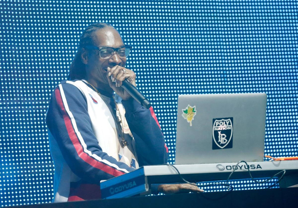 Snoop Dogg performs onstage during AOL's Future Front on September 28, 2015 in New York City.