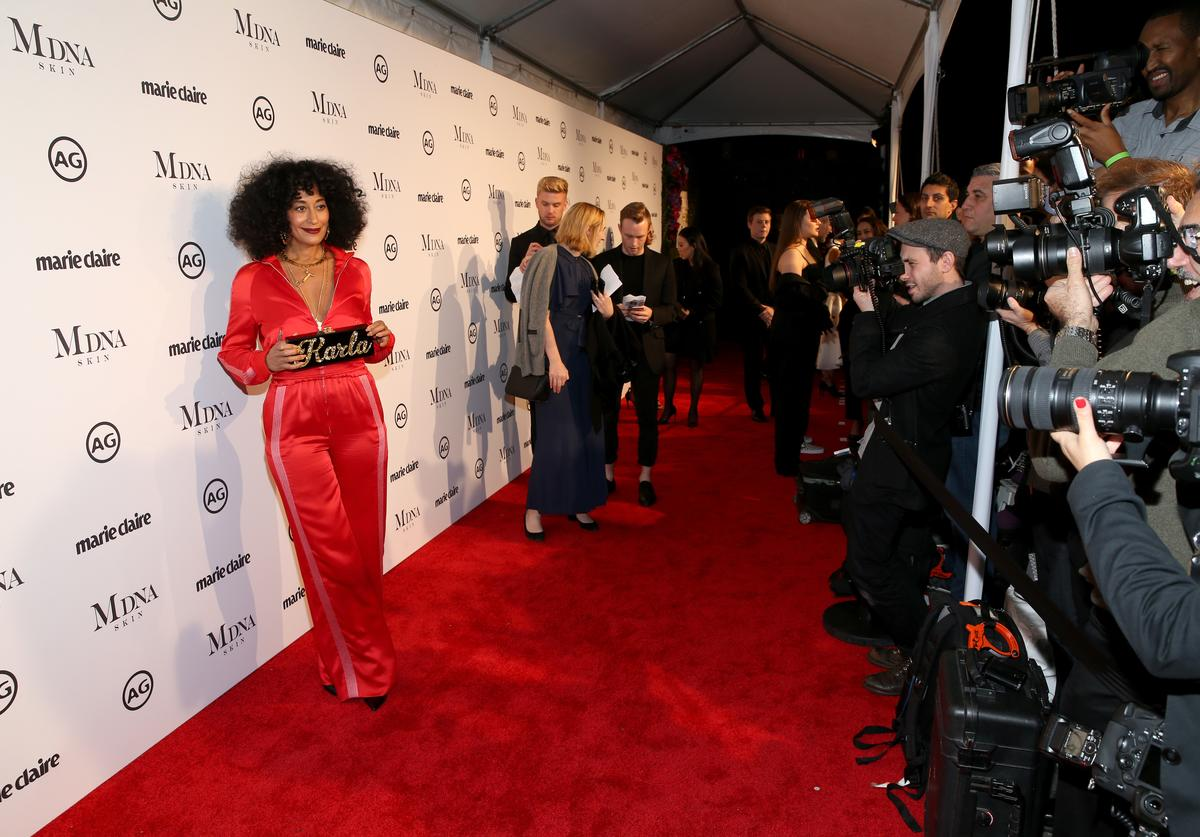 Tracee Ellis Ross attends the Marie Claire's Image Makers Awards 2018 on January 11, 2018 in West Hollywood, California