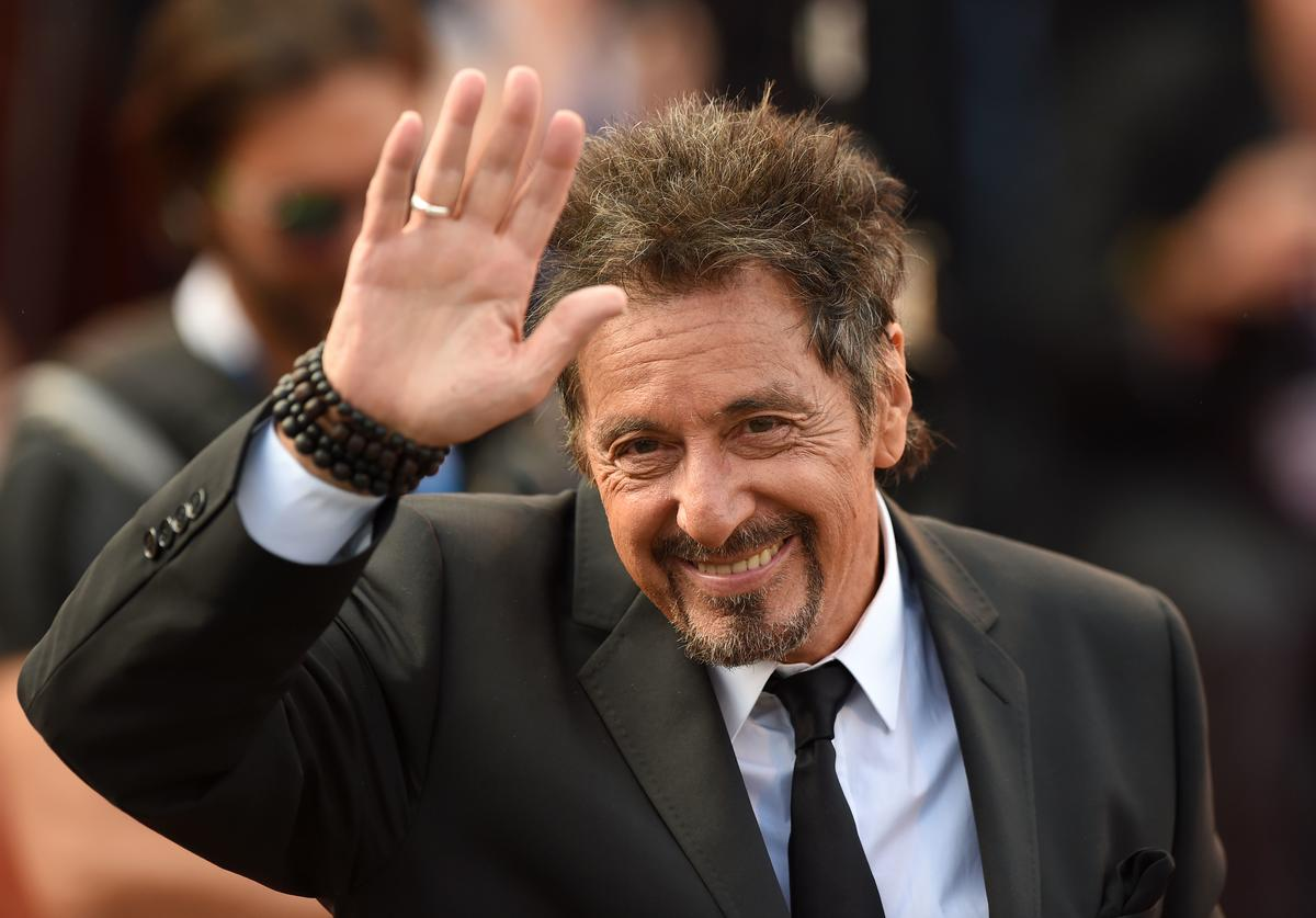 Al Pacino attends the 'Manglehorn' - Premiere during 71st Venice Film Festival on August 30, 2014 in Venice, Italy