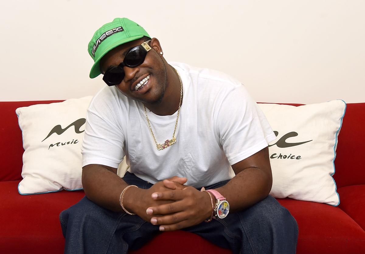 A$AP Ferg visits Music Choice on August 22, 2017 in New York City