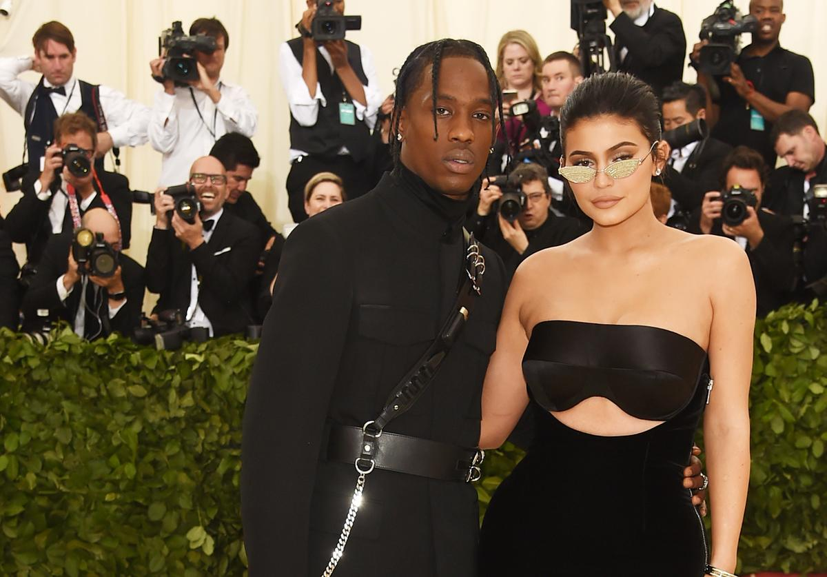 Kylie Jenner & Travis Scott at 2018 Met Gala