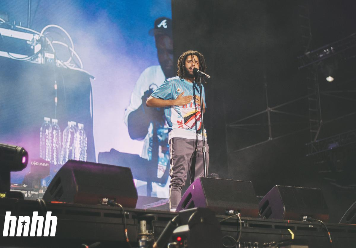 J. Cole at Rolling Loud 2018