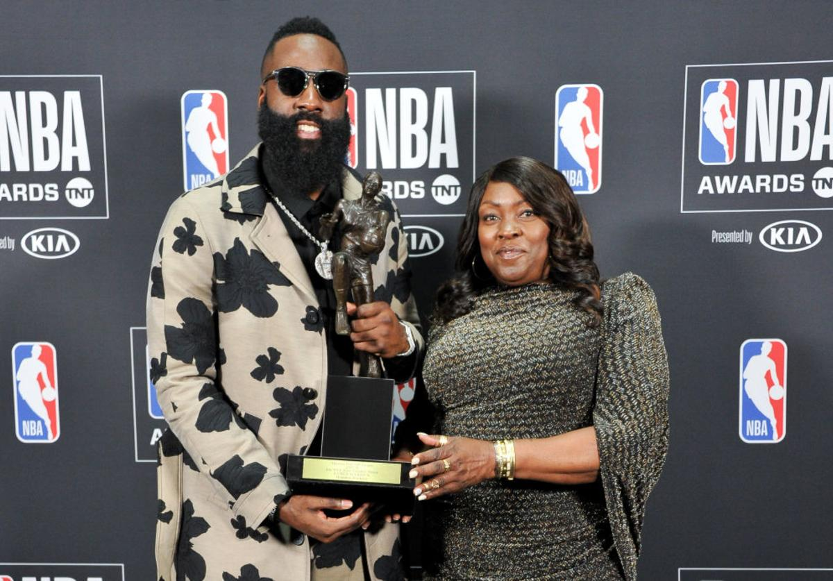 Harden & His Mom
