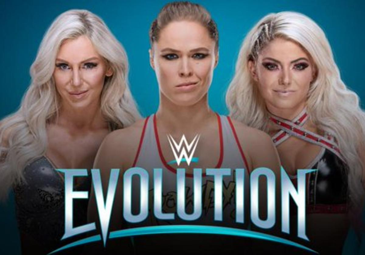 Flair, Rousey, Bliss