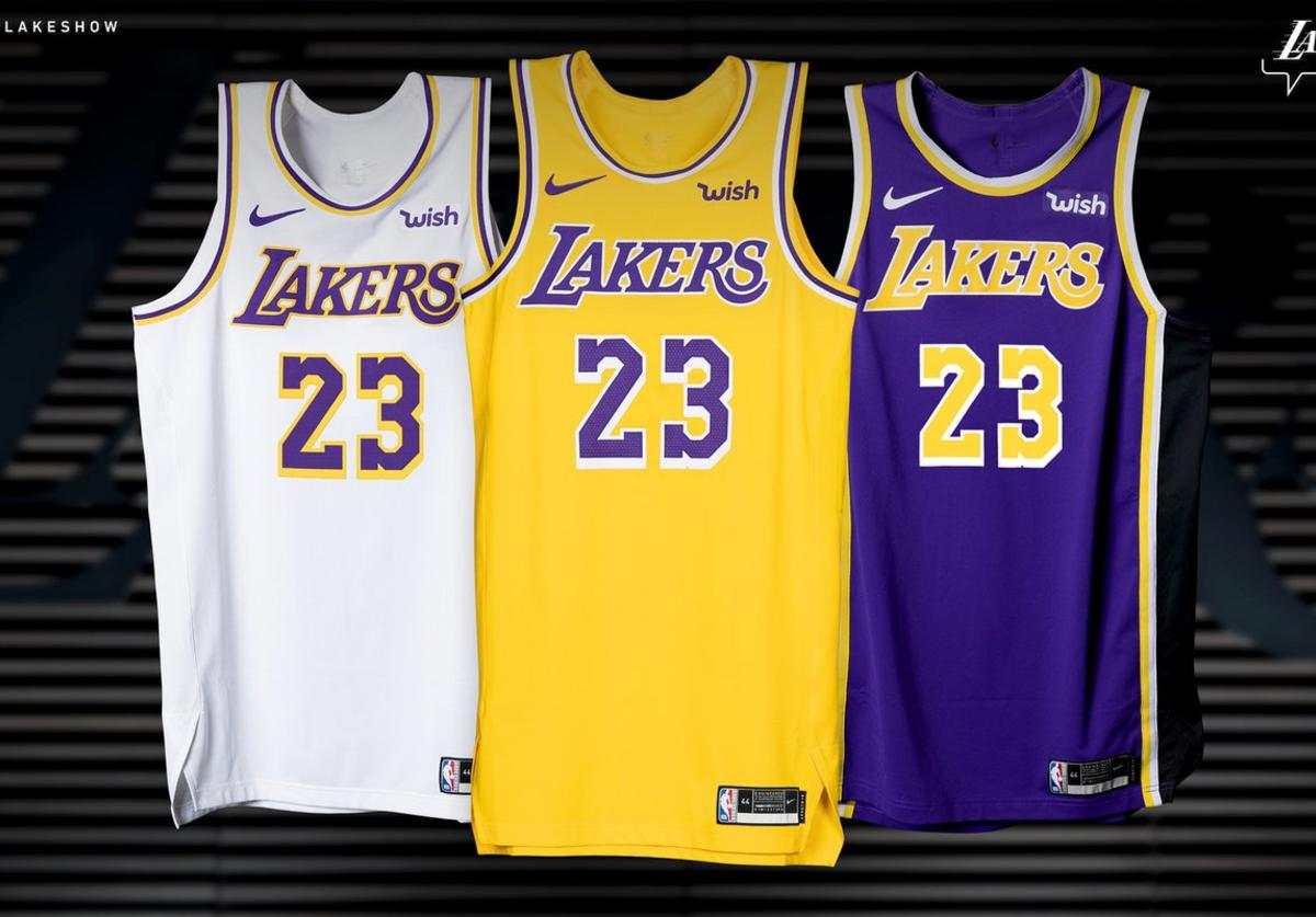 Lakers uniforms