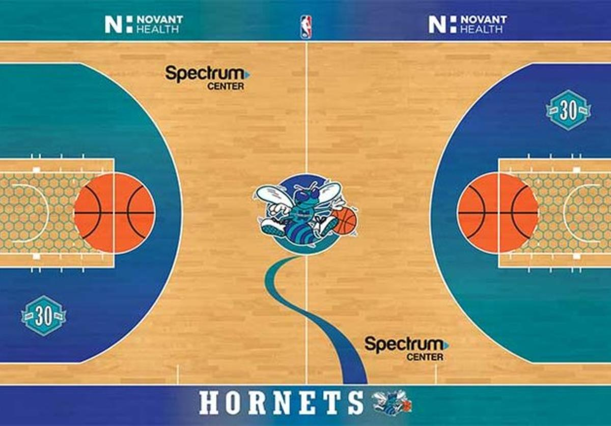 Hornets Classic Nights court