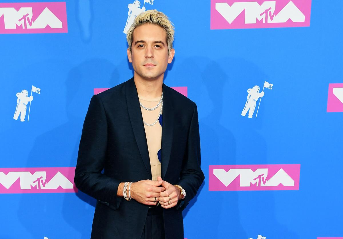 G-Eazy attends the 2018 MTV Video Music Awards at Radio City Music Hall on August 20, 2018 in New York City.